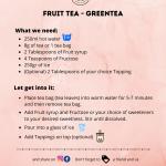 Fruit Green Tea